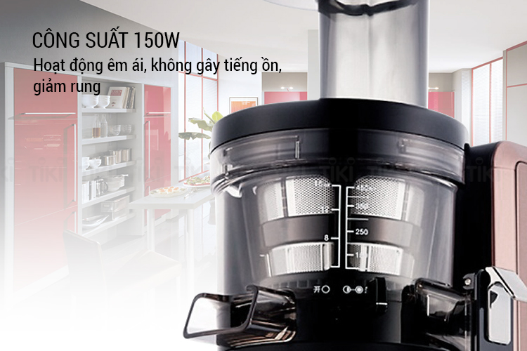 Máy Ép Trái Cây Tốc Độ Chậm Hurom HAA LBE17 (150W) - Hồng - Hàng Chính Hãng