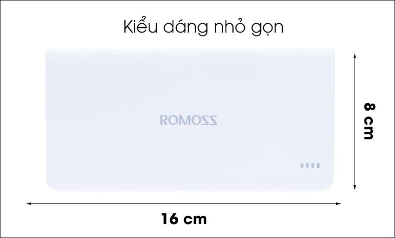 Pin Sạc Dự Phòng Romoss Polymoss20 20000mAh
