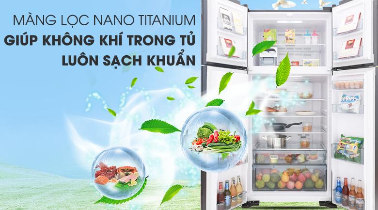 Tủ Lạnh Inverter Hitachi R-FW690PGV7-GBK (540L)