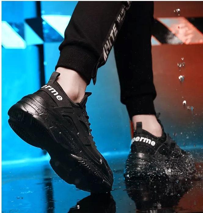 Giày thể thao sneaker nam nữ đế cao siêu nhẹ phong cách Hàn Quốc 5