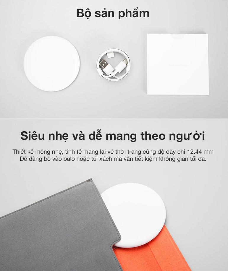 Đế sạc không dây thông minh Xiaomi Trắng