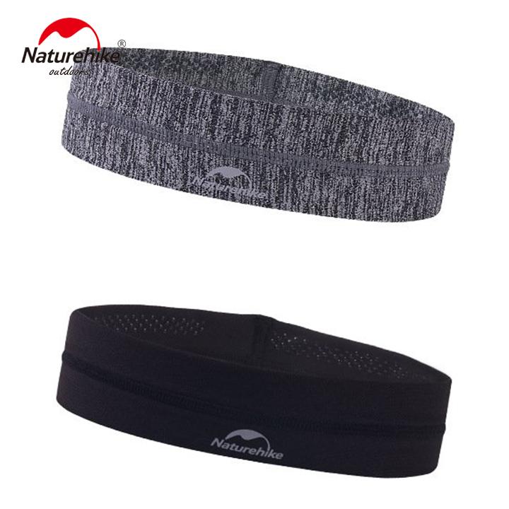 Băng đô Băng trán thể thao Headband NatureHike hàng chính hãng cho nam và nữ thấm hút mồ hôi nhanh 2