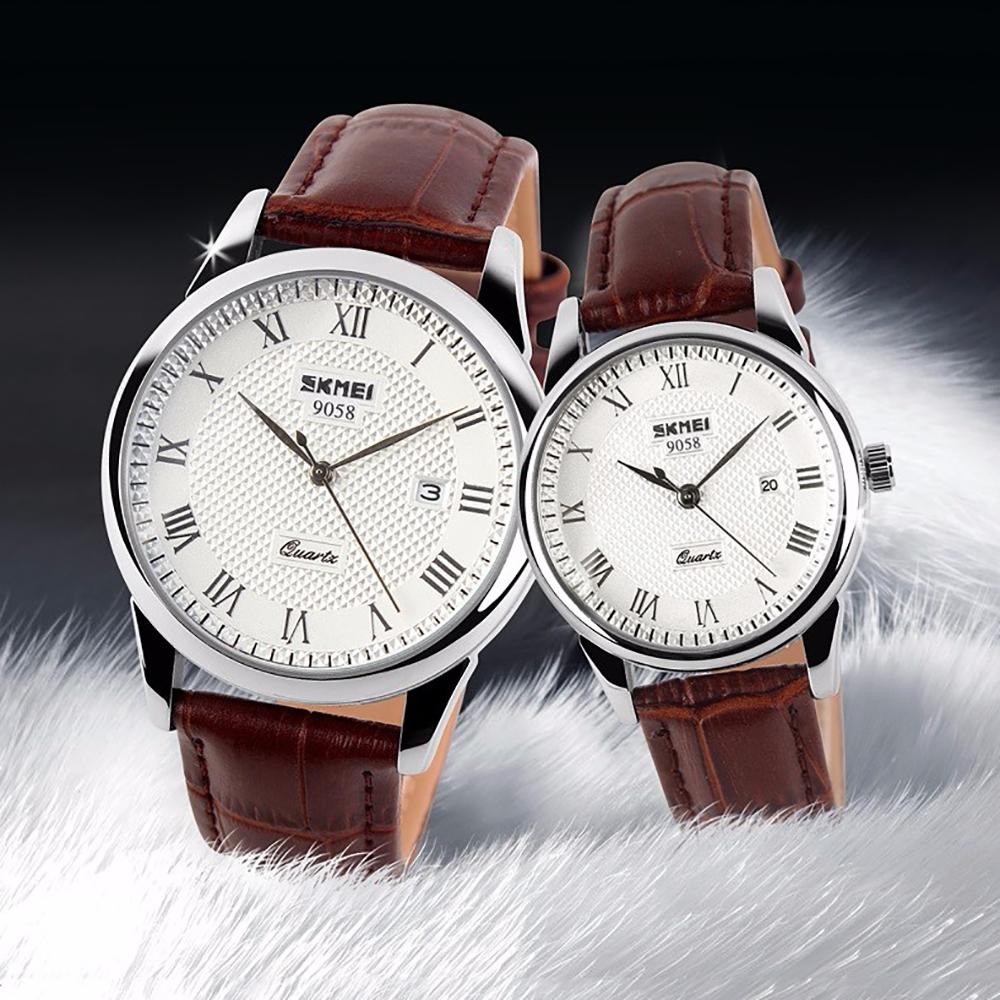 Đồng hồ nữ dây da Skmei 90TCK58 5