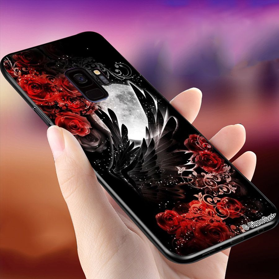 Ốp lưng cứng viền dẻo dành cho điện thoại Samsung Galaxy S9 - Lung Linh Sắc Màu MS LLSM048