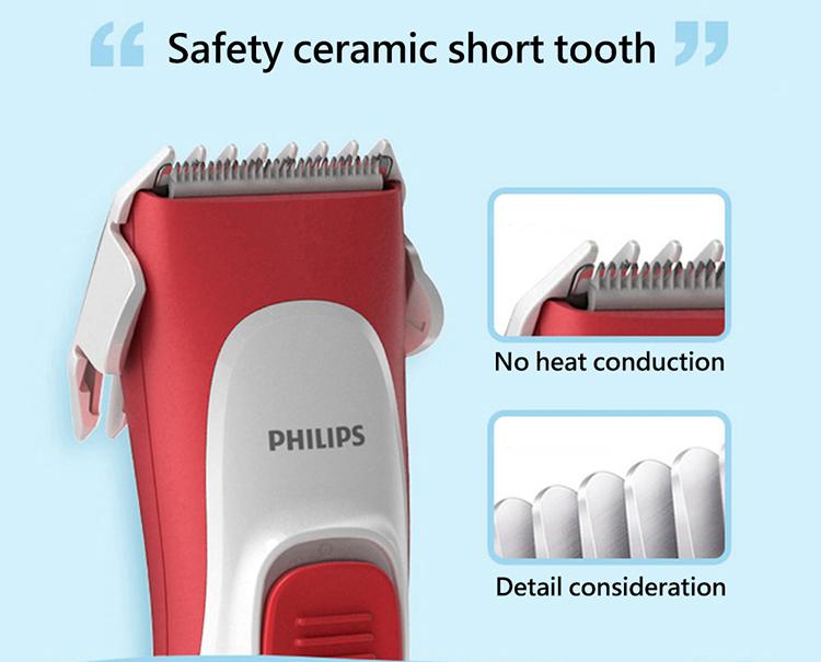 Philips children's hair clipper HC1088/15 - White
