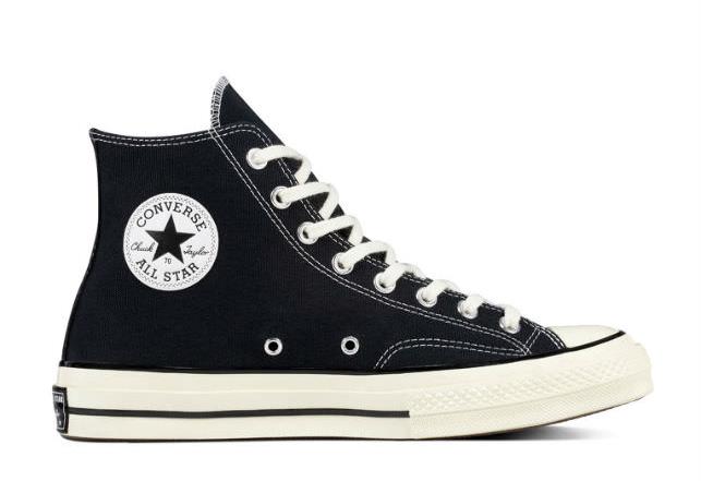 Giày Sneaker Unisex Converse Chuck Taylor All Star 1970s Black/w 2018