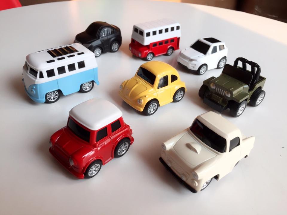 Bộ 8 Ô Tô Mô Hình Đồ Chơi MINI CAR Cho Bé Trai 5
