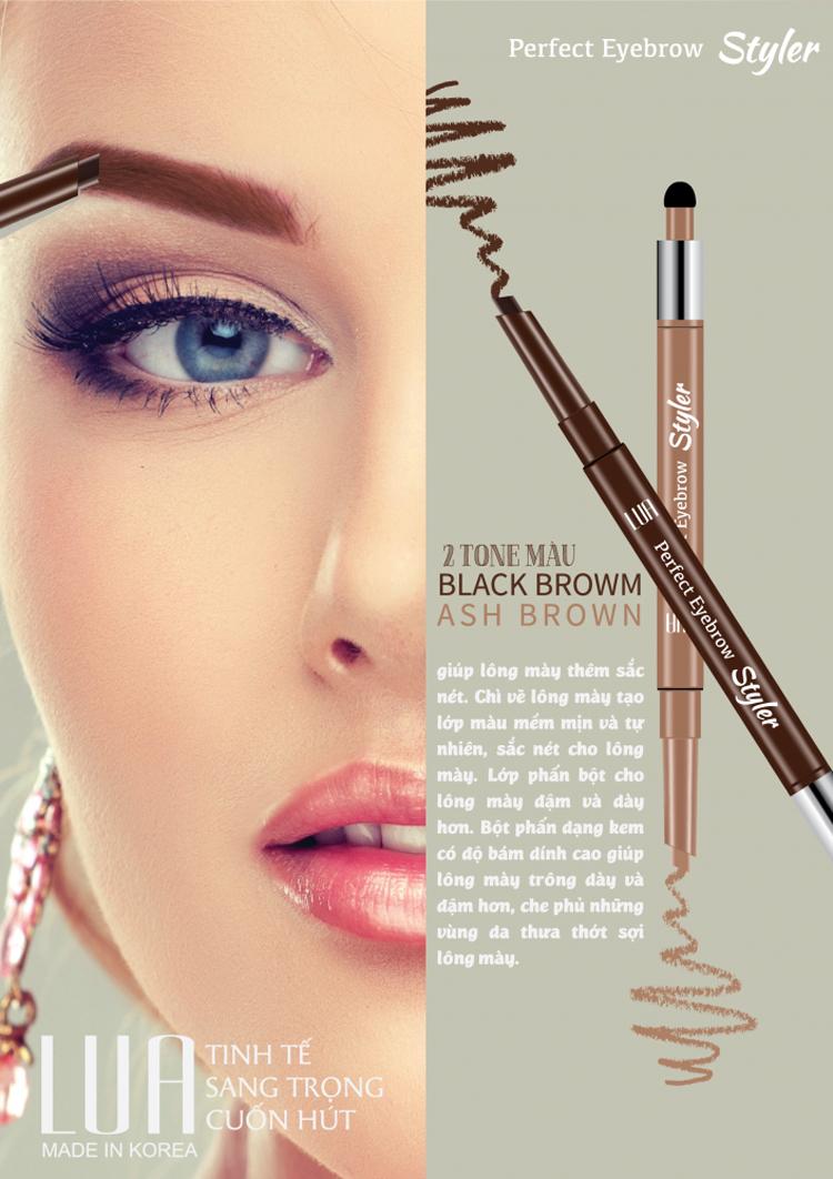 Chì Kẻ Mày Ngang Lua Perfect Eyebrow Styler