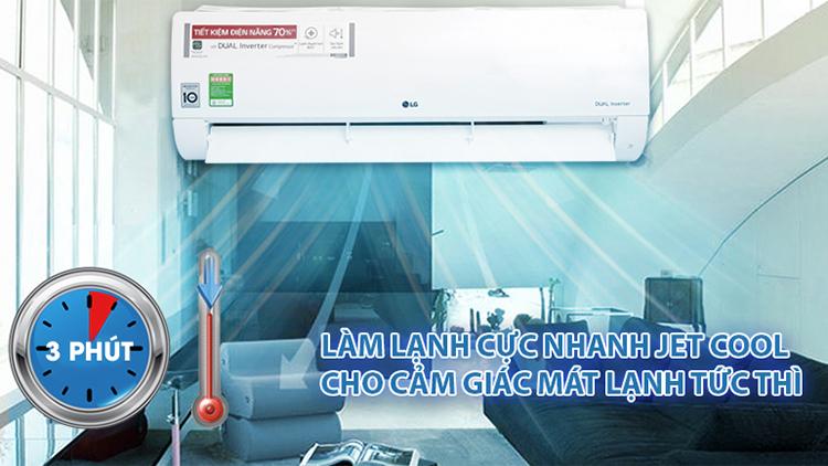 Điều Hòa Inverter LG V18ENF (18.000BTU)