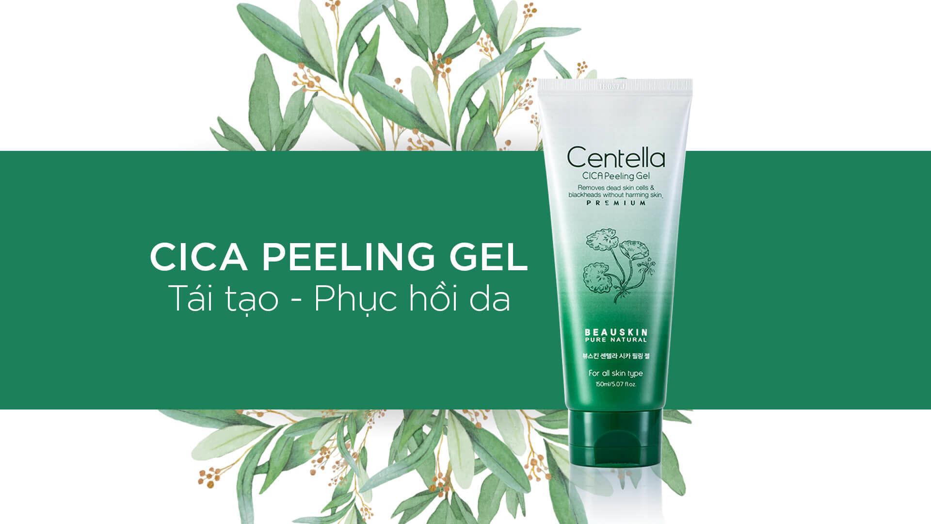Tẩy Da Chết Mới Centella Cica Peeling Gel Beauskin 150ml
