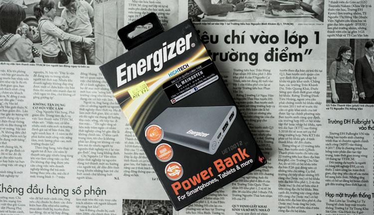 Pin Sạc Dự Phòng Energizer 10000mAh UE10012 - Hàng Chính Hãng