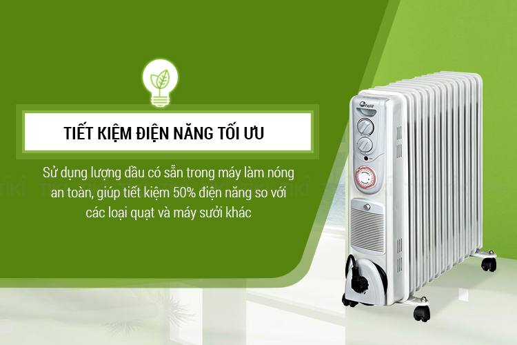 Máy Sưởi Dầu FujiE OFR5513