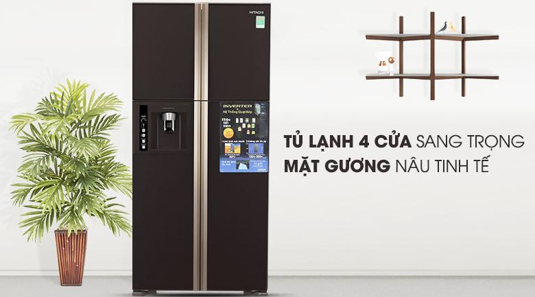 Tủ Lạnh Inverter Hitachi R-W660FPGV3X-GBW (540L)