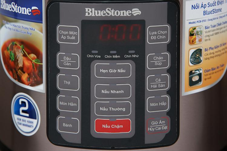 Nồi Áp Suất Bluestone PCB-5755 (6L) - Hàng chính hãng