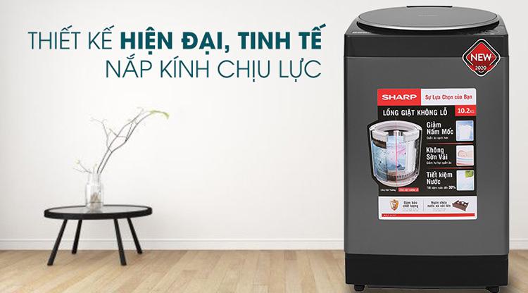 Máy giặt Sharp 10.2 kg ES-W102PV-H - Chỉ giao HCM