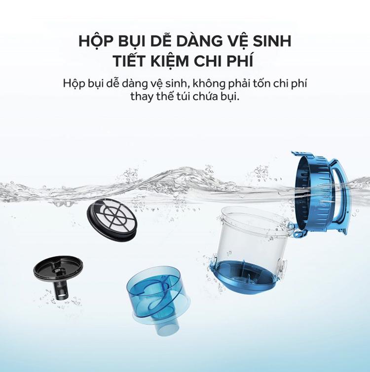 Máy Hút Bụi TrueHome TC-CBLA1(B) - Hàng Chính Hãng