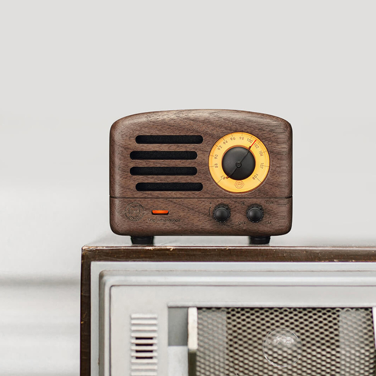 Xiaomi Mijia BT Speaker Smart Mini Wireless Portable Soundbox Bass Speakers Audio Player Music Amplifier For Travel - Brown