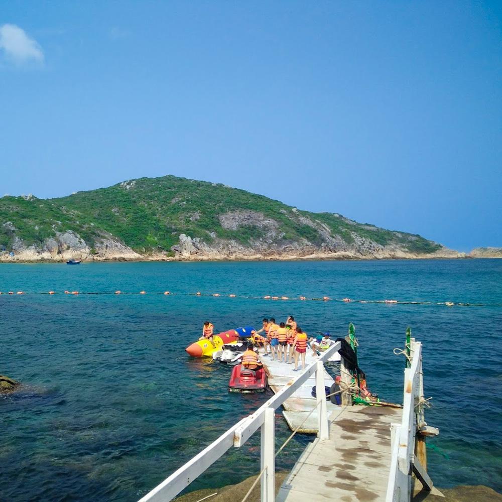 Tự do khám phá đảo Bình Ba