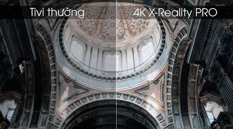 Android Tivi Sony 55 inch 4K UHD KD-55X8000G