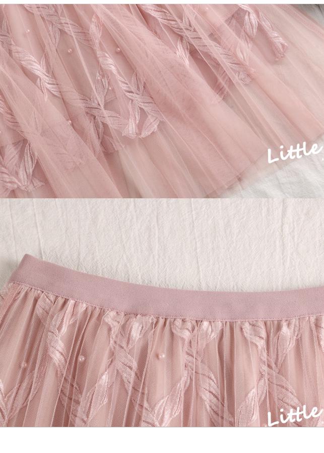 Chân váy ren Tutu ren thừng sang trọng hàng cao cấp VAY20 Free size 10