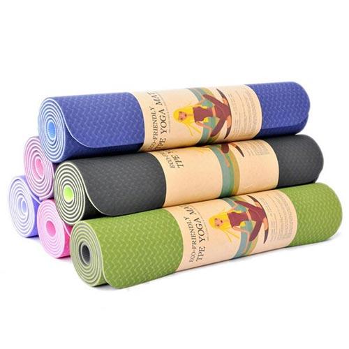 Thảm yoga cao cấp tặng kèm 5 khăn lau bếp 3