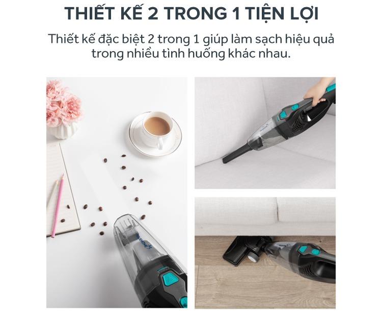Máy Hút Bụi TrueHome TC-SBLA1(B) - Hàng Chính Hãng