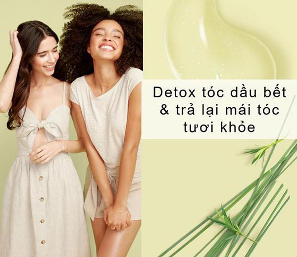 Combo Detox Tóc Dầu Bết Dầu Gội & Dầu Xả Love Beauty And Planet (400ml x 2)