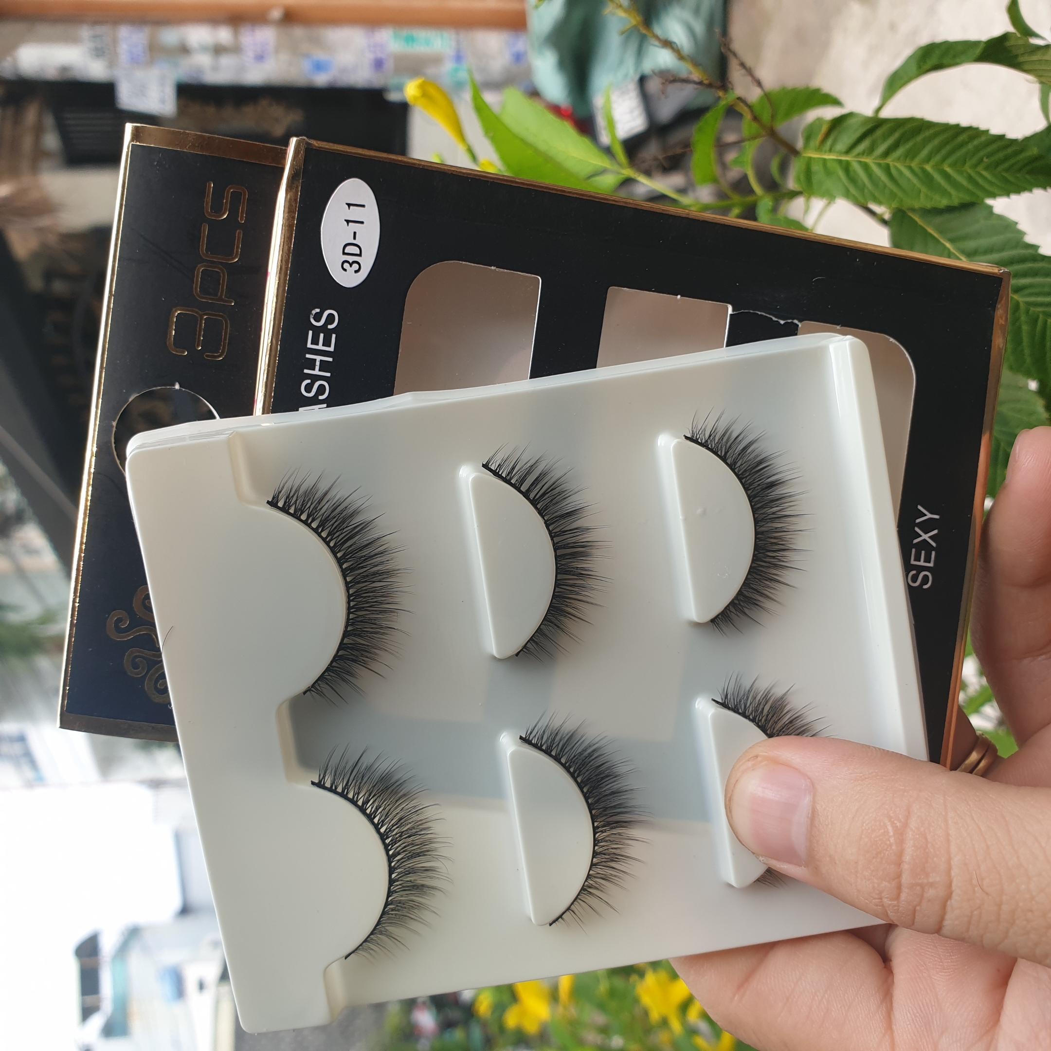 Lông mi giả lông chồn 3 Fashion Eyelashes 3 Faux-Cils 3D 1 bộ 3 cặp 44