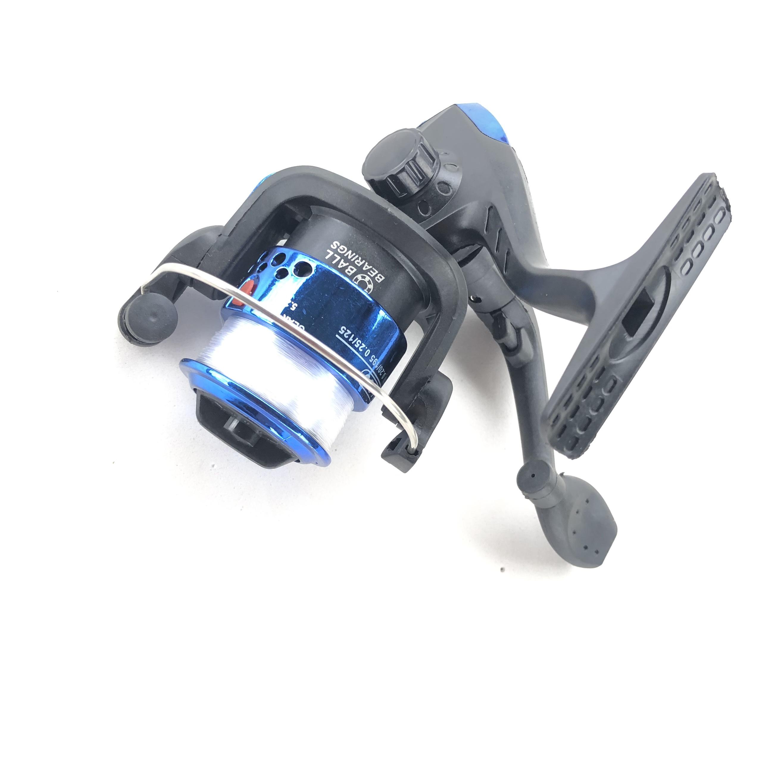 Máy câu cá mini kèm 80m dây cước cuốn sẵn. Phụ kiện câu cá chuyên nghiệp, gọn nhẹ, dễ dàng mang theo và tháo lắp khi cần thay thế. 4