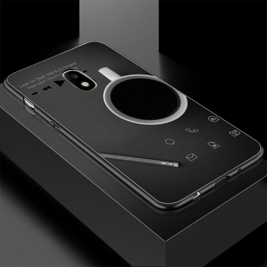 Ốp lưng cứng viền dẻo dành cho điện thoại Samsung Galaxy A7 2015 - dòng thời gian MS CAFE011
