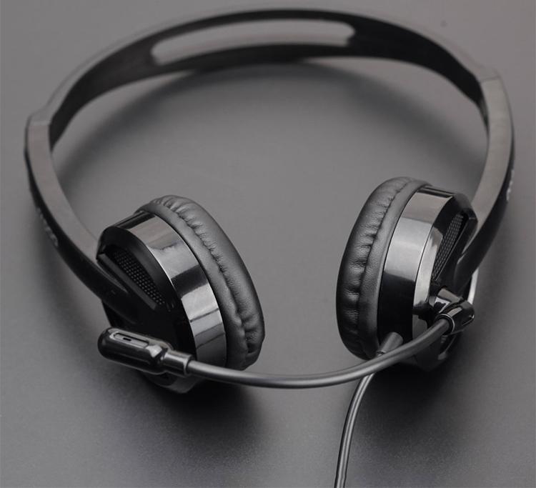 Tai Nghe Có Dây Chụp Tai On-ear Rapoo H100 Wired Stereo - Hàng Chính Hãng