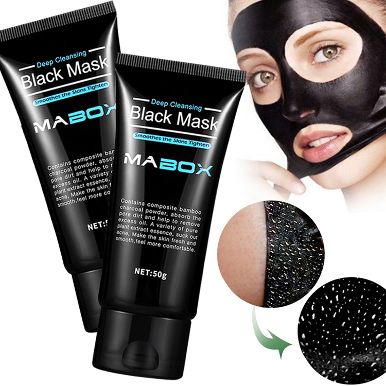 Purifying Black Mask Bamboo Charcoal Mask Convenient Bamboo Charcoal Aloe Vera T Zone Deep Cleansing