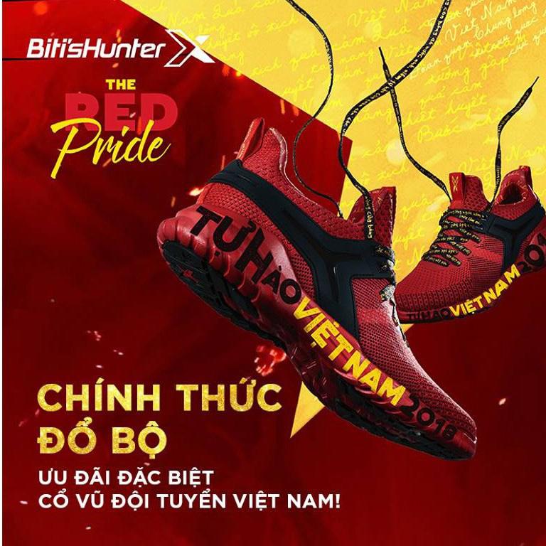 Giày Thể Thao Nữ Biti's Hunter X #theREDpride - I Fan Edition - DSUH00900