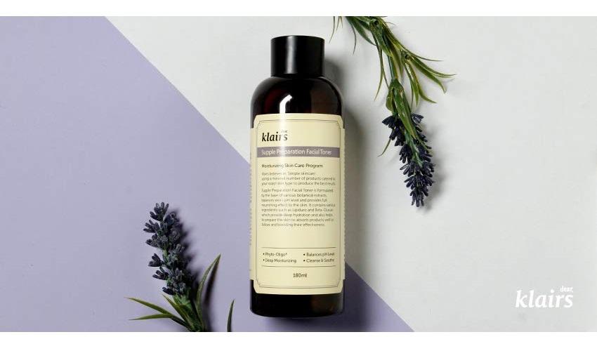 Nước hoa hồng chống viêm, dưỡng ẩm Klairs Supple Preparation Facial Toner 180ml + Tặng 1 Mặt Nạ Su:m Đen | Tiki.vn