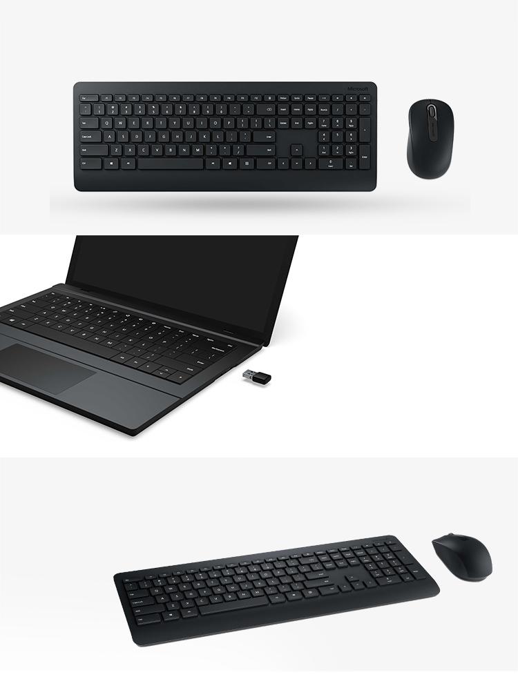 Bộ Chuột Và Bàn Phím Không Dây Microsoft 900