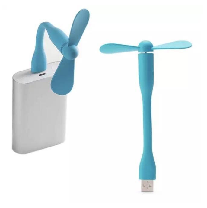 Quạt Mini 2 cánh Dùng Nguồn USB laptop, sạc dự phòng, điện thoại giúp làm mát cho bạn (giao màu ngẫu nhiên)