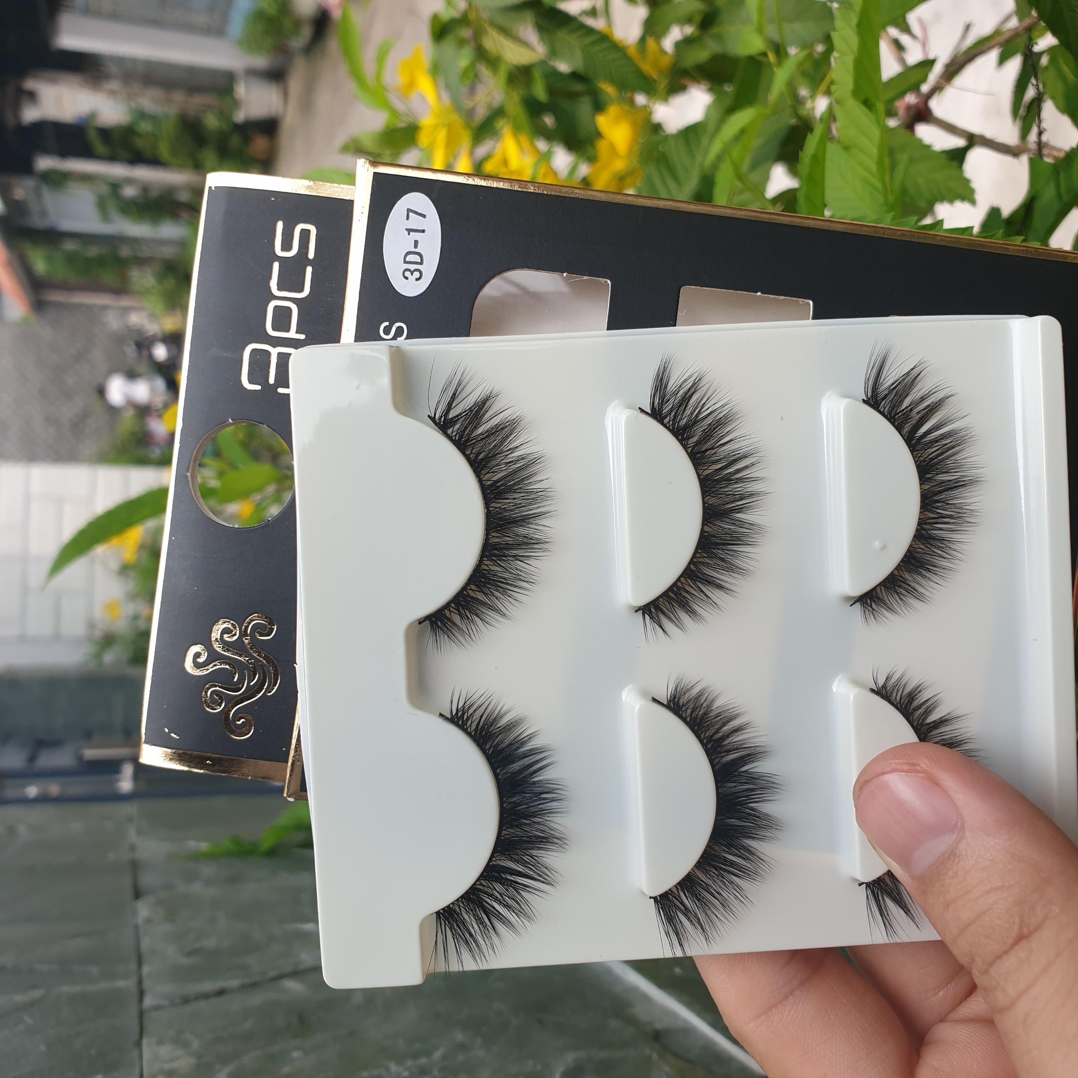 Lông mi giả lông chồn 3 Fashion Eyelashes 3 Faux-Cils 3D 1 bộ 3 cặp 68