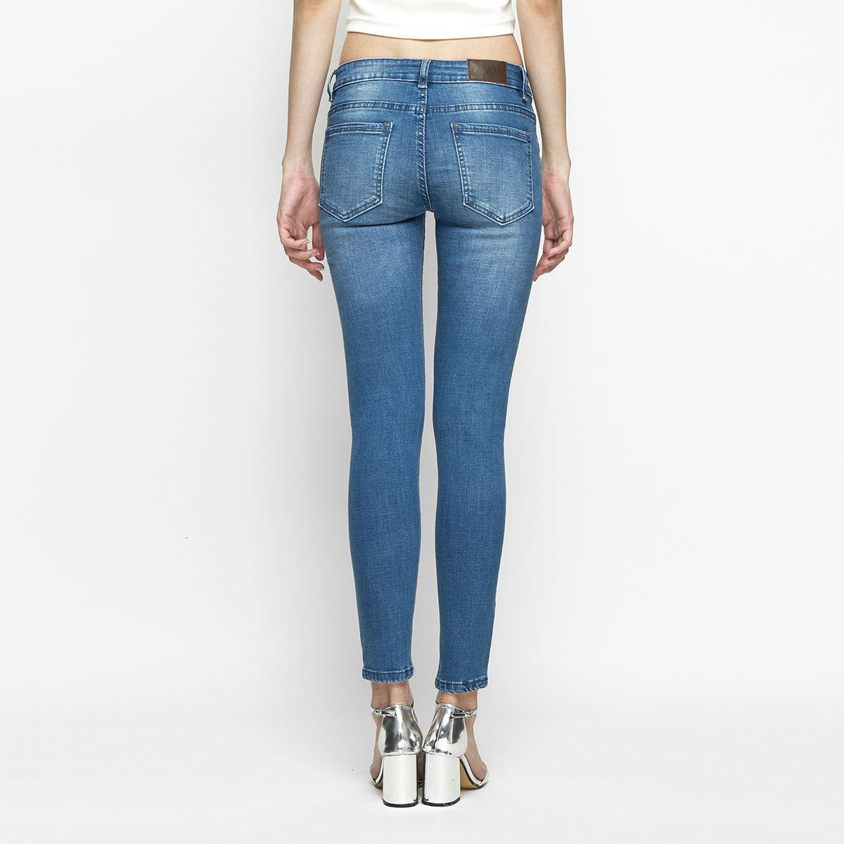 Quần Jean Nữ Skinny Lưng Vừa Aaa Jeans Có Nhiều Màu Size 26 - 32 17