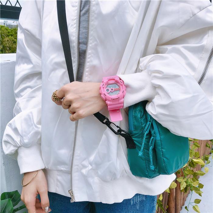 Đồng hồ thể thao nam nữ trẻ trung, năng động phong cách Hàn Quốc 1