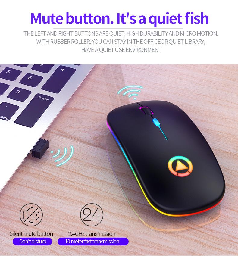 Chuột Wireless Fantech MX Master (Cổng sạc MICRO USB - Có Thể Sạc Lại) - Hàng Chính Hãng VN A 9