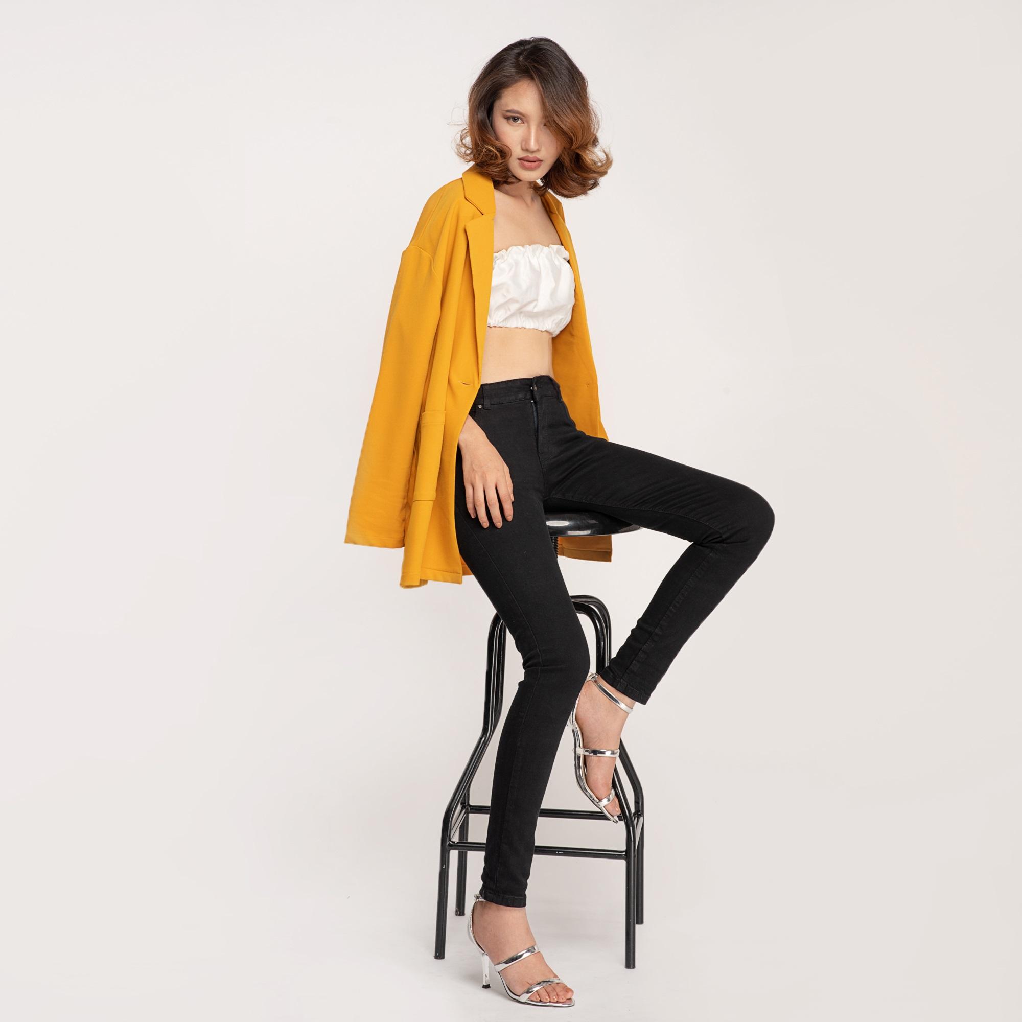 Quần Jean Nữ Skinny Lưng Vừa Aaa Jeans Có Nhiều Màu Size 26 - 32 13