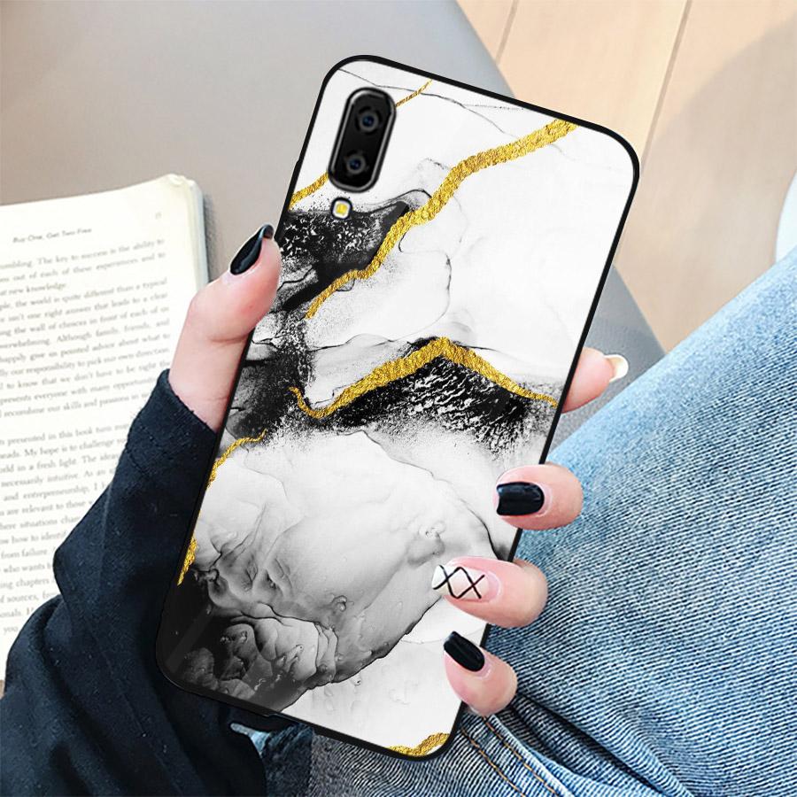 Ốp điện thoại dành cho máy Samsung Galaxy A70 - hình vân Đá MS VANDA041