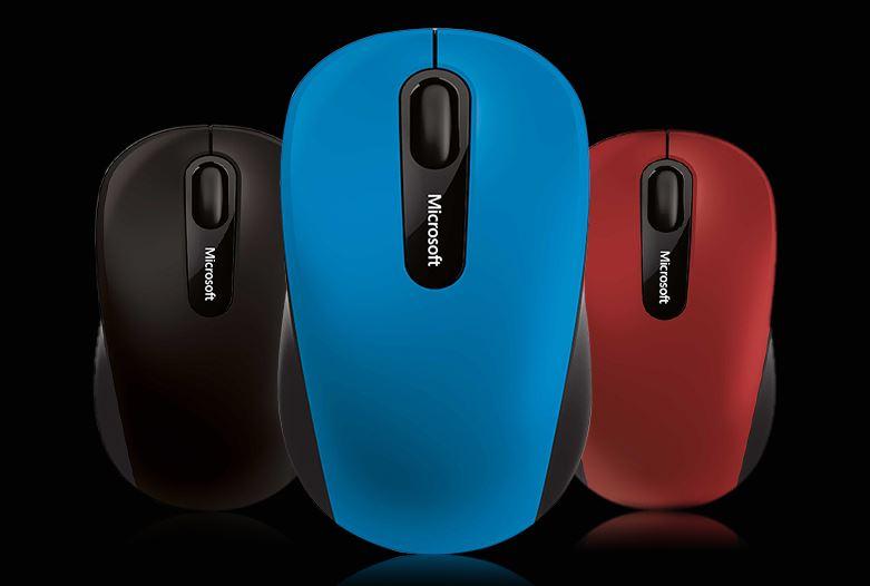Chuột Không Dây Bluetooth Microsoft 3600 - Đỏ
