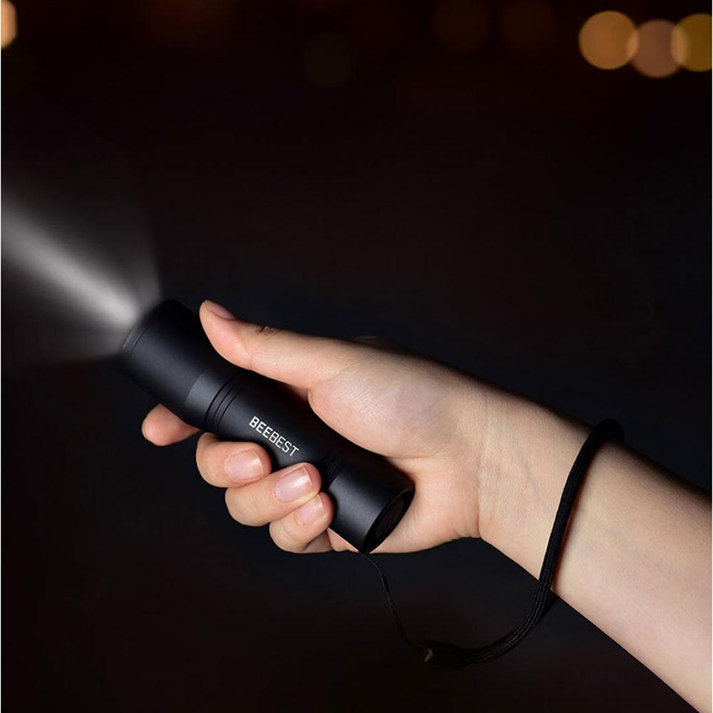 Đèn pin cầm tay mini Xiaomi Beebest F1 - Hàng Nhập Khẩu - Đèn pin