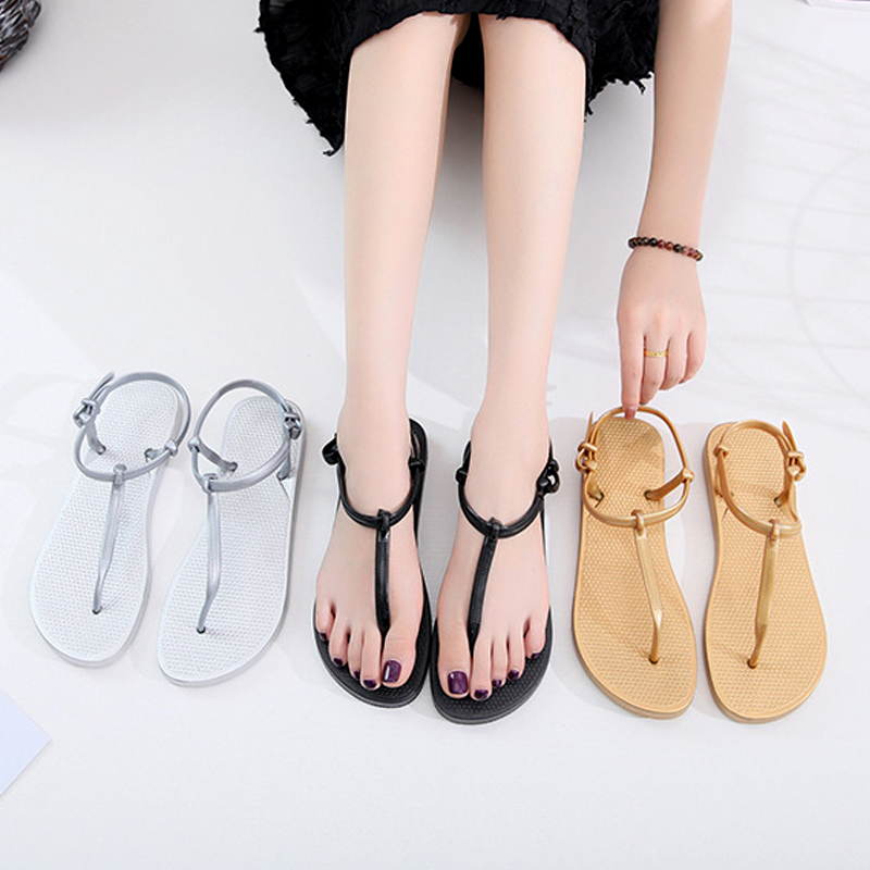 Giày sandal nữ ,thiết kế dây gài độc đáo 9600413 5