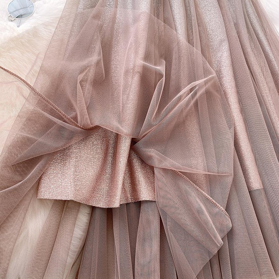 Váy xòe lưới tutu loang mầu lấp lánh VAY53 13