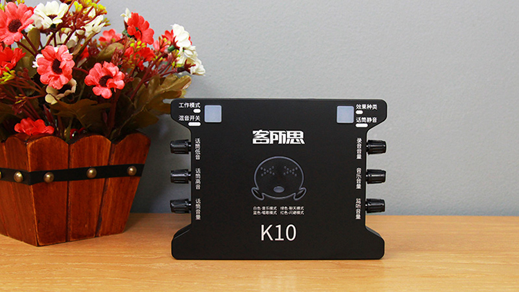 Soundcard hát livestream XOX K10
