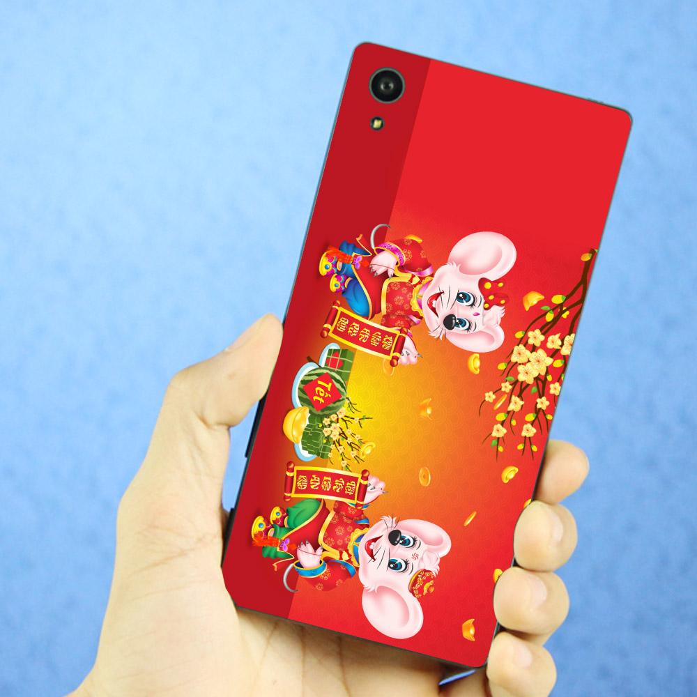 Ốp điện thoại dành cho máy Sony Xperia XA1 Plus - Chuột chúc tết mã 08 MS CCTM08