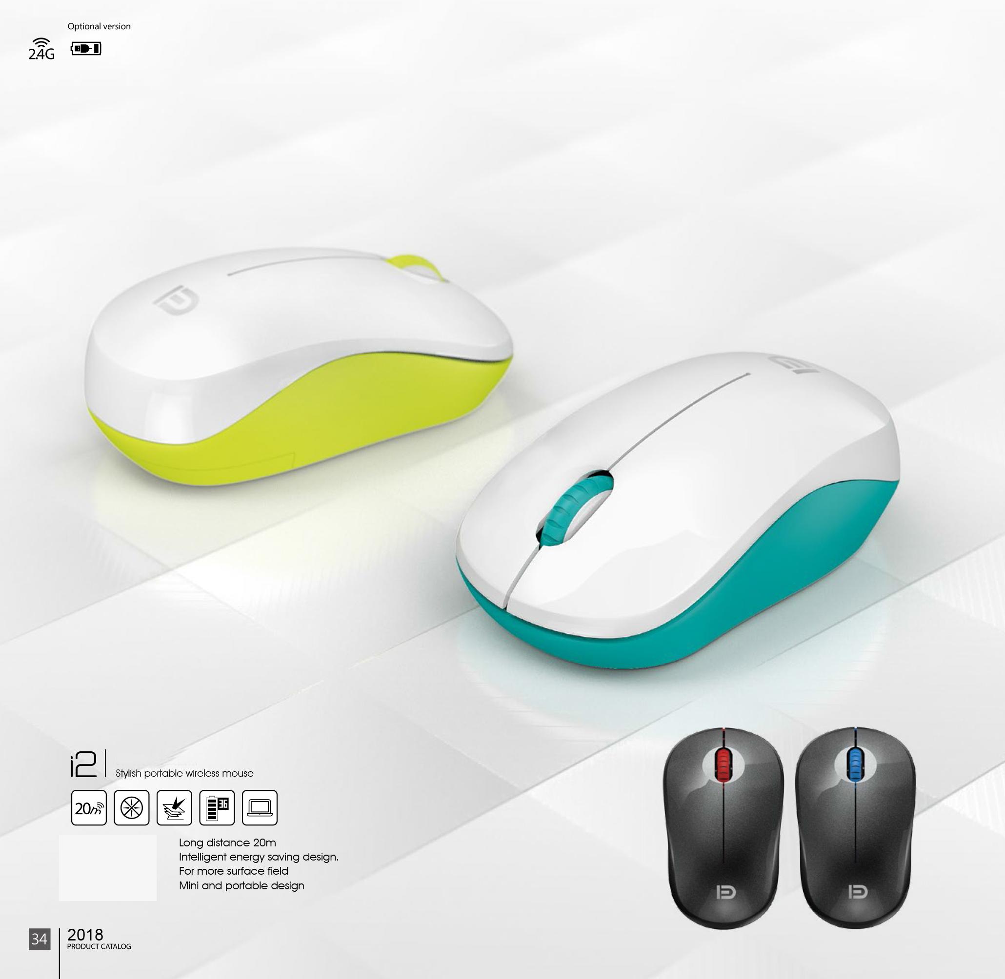 Chuột không dây Wireless FD i2 thiết kế nhỏ gọn, tiện dụng,... | Tiki.vn