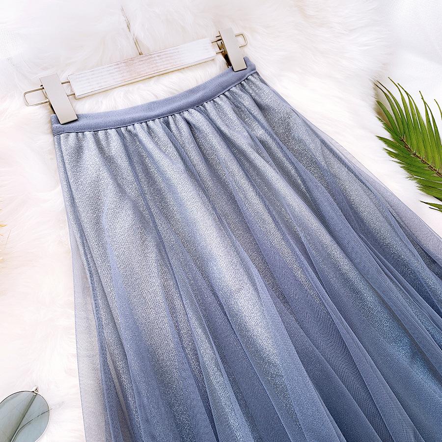 Váy xòe lưới tutu loang mầu lấp lánh VAY53 14